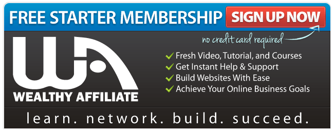 Sign up for the free starter membership. Learn to earn online.