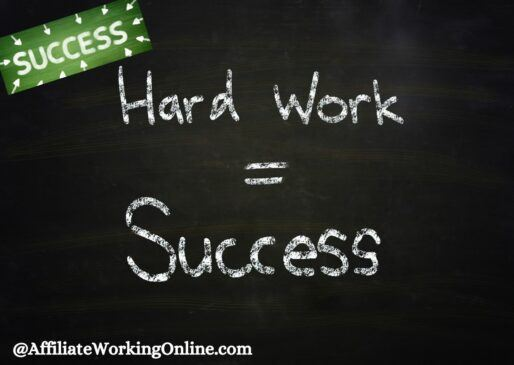 Hard work = success