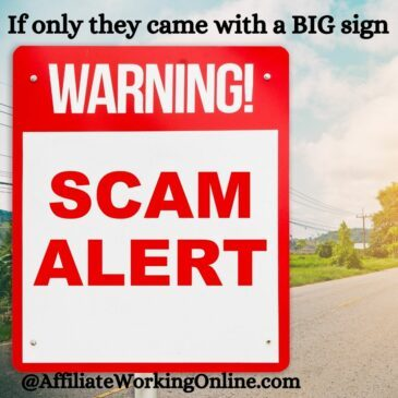 Warning Scam Alert. Your future self will thank you.