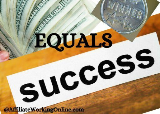 Money equals success What does Success mean