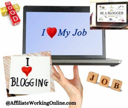 blogging is a job