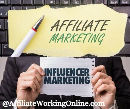 affiliate marketing and influencer marketing. An Easy Guide to Affiliate Marketing