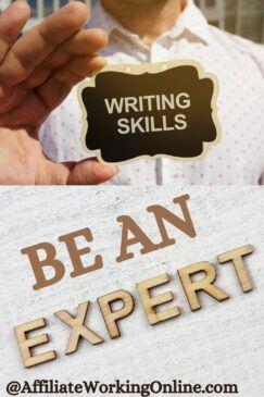 writing skills be an expert
