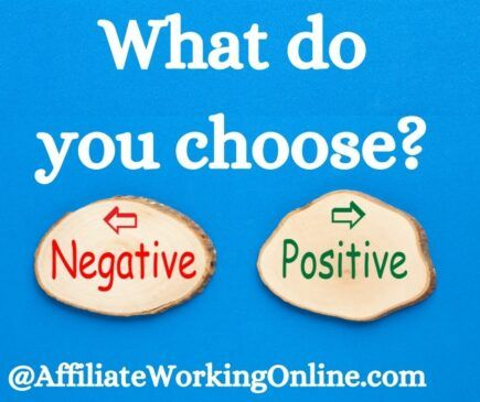 what do you choose, negative or positive