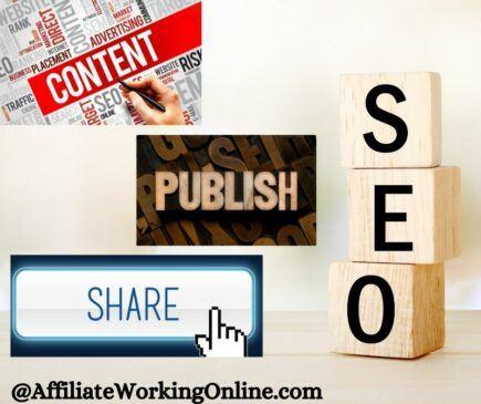 SEO publish share