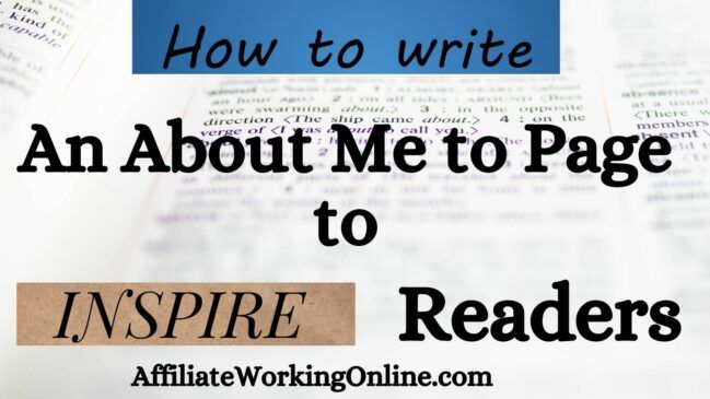 How to Write an About Me Page to Inspire Readers