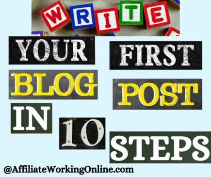Write Your First Blog Post in 10 Steps