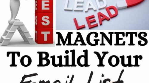 Best Lead Magnets To Build Your Email List