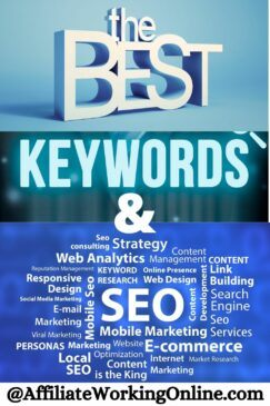 The best keywords and SEO