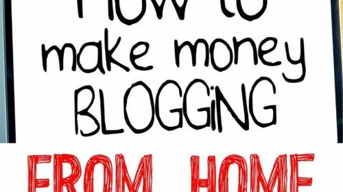 How to Make Money Blogging from Home